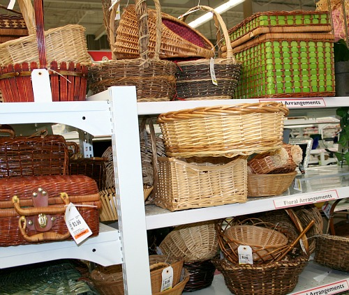 More Baskets from Value Village