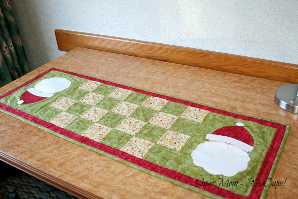 Photo of Santa Table Runner