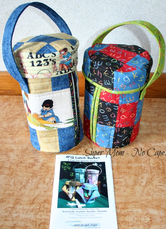 Quilted Lunch Buckets