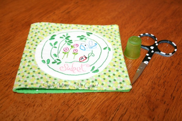 Embroidered Sweet and Spotty Needle Wallet