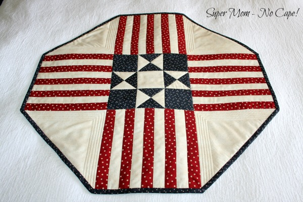 Old Glory Table topper completed