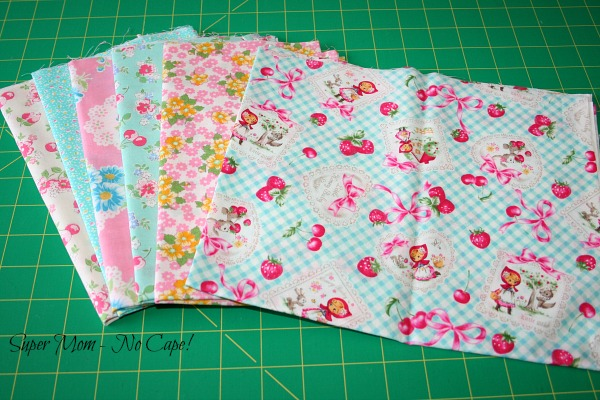 Photo of Lecien fat quarters