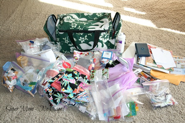 Contents of the Aloha Duffel Bag