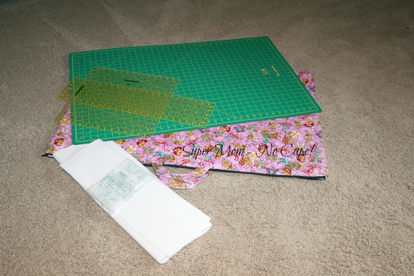 Cutting mat and rulers