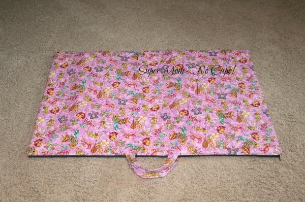 World's Largest zippered bag