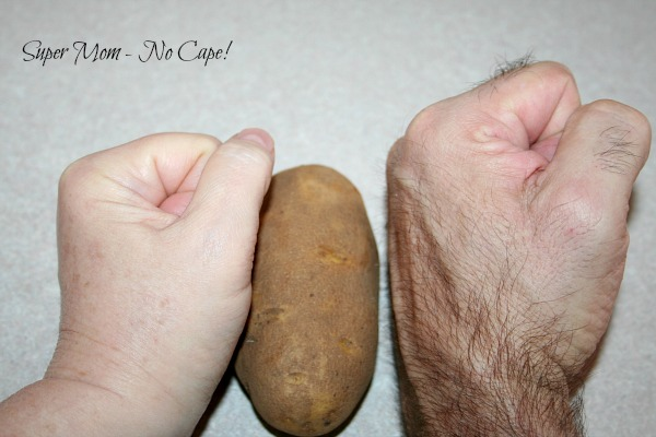 Fist size potato
