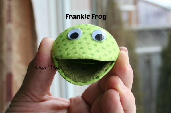 Frankie Frog Thimble Pip