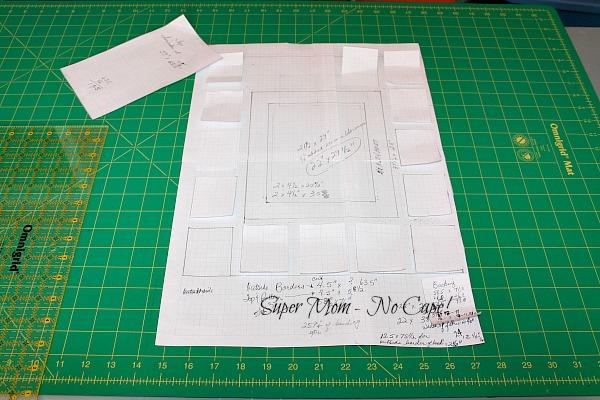 Plan for the Tree Bird Blog Hop quilt