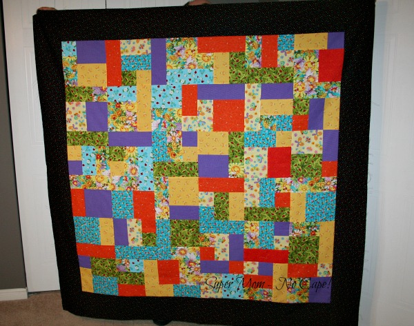 Smiling Sunflower quilt