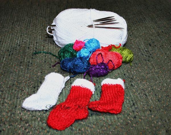 Three Tiny Christmas Stockings
