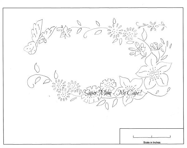 Workbasket Pattern for Butterfly Flower Wreath