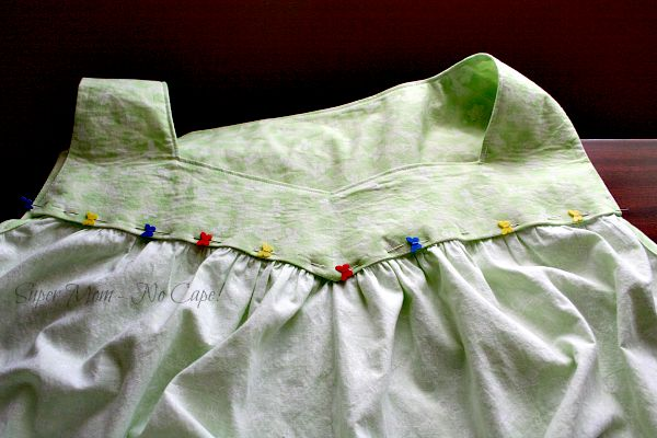 WIP Wednesday – Fixing the Nightgown