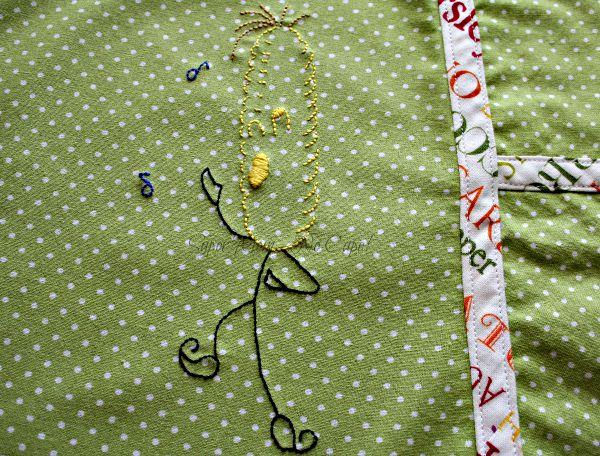Vintage Embroidery Monday & Stitchery Link Party #20