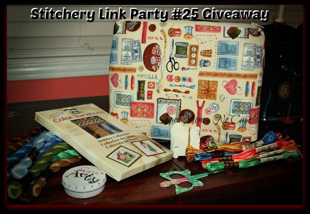Stitchery Link Party #25 Give Away
