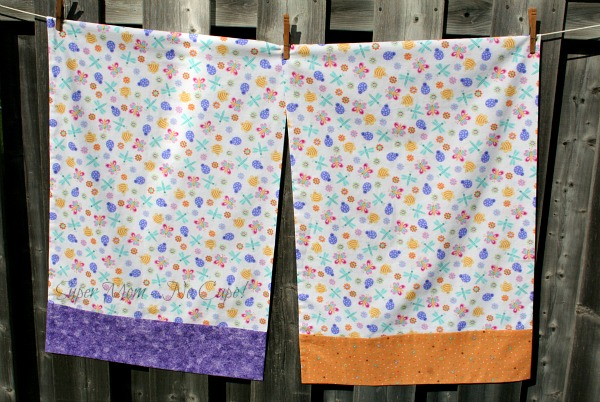 2 Cute bug pillowcases for Case for Smiles
