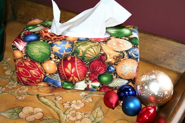 ChristmasTissue box cover