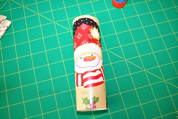 Step 3 - Wrap the paper around the roll