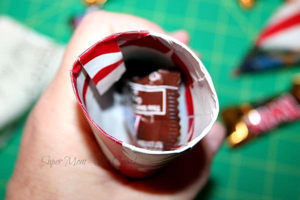 Step 7 - Pop a candy inside