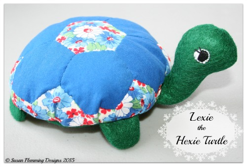 Lexie the Hexie Turtle Pattern Cover Photo