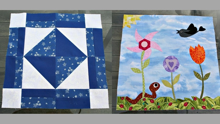 In Our Garden BOM – Blocks 3 & 4
