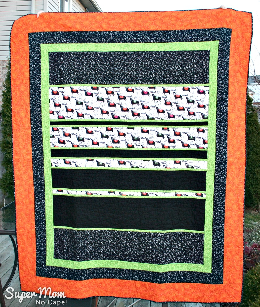 Front of Oldest Daughters Quilt