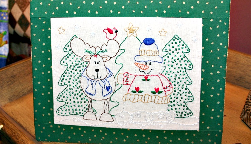 Reindeer & Snowman