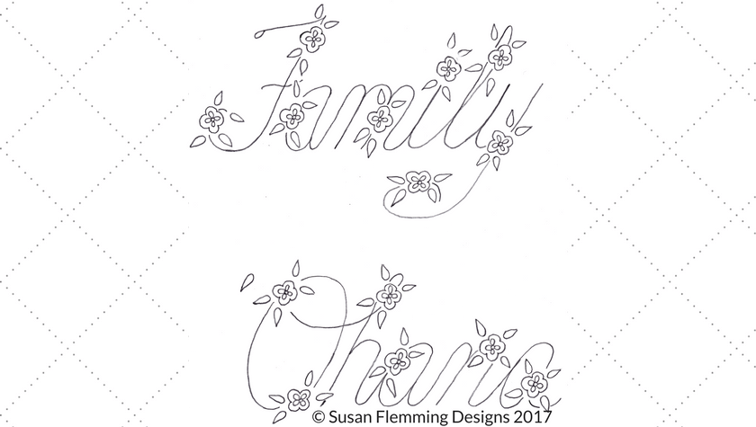Family - Ohana Embroidery Pattern for Vintage Embroidery Monday