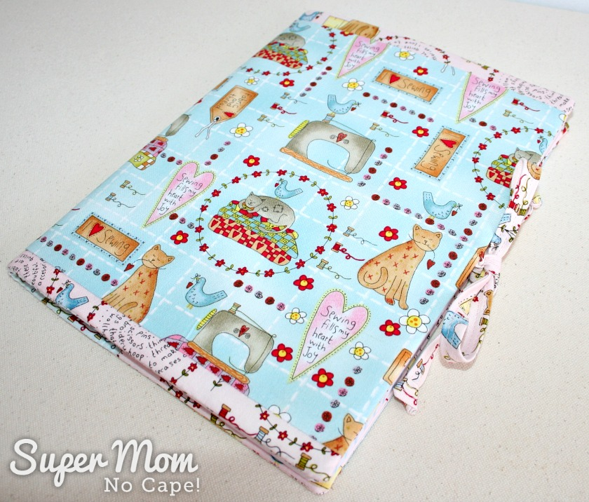 Journal Cover for 9th Anniversary Giveaway on Super Mom - No Cape!
