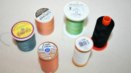 The Secret in Your Thread Spools - photo of 6 different brands of thread