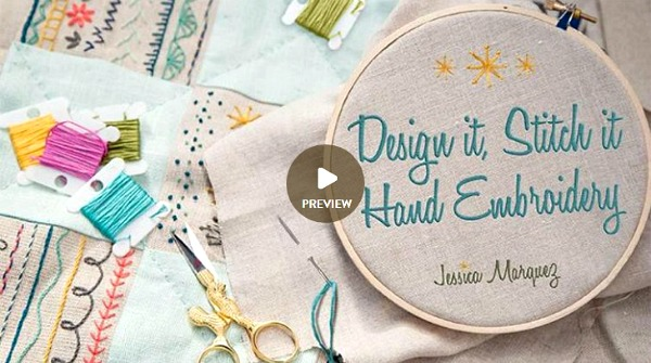Design It Stitch It Hand Embroidery - ad image