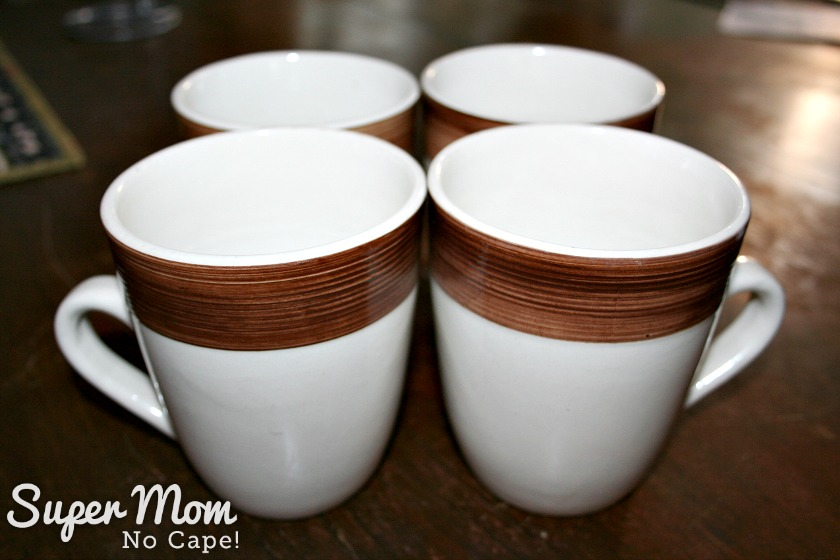 How to Set Up a Kitchen on the Cheap - coffee cups