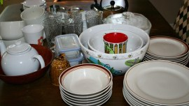 How to Set Up a Kitchen on the Cheap - photo of several kitchen items