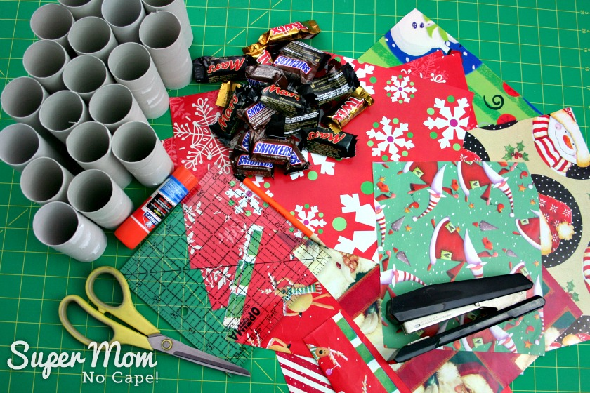 Halloween Treat to Christmas Party Favor - Gather your materials