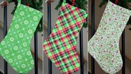 Beautiful Handmade Christmas Stockings for Home Decor and Gifting