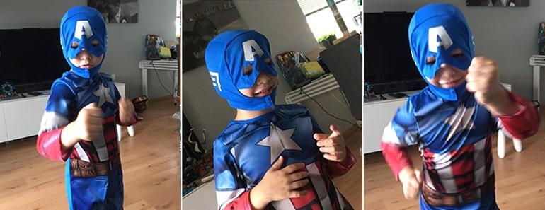 verkleedpak superheld