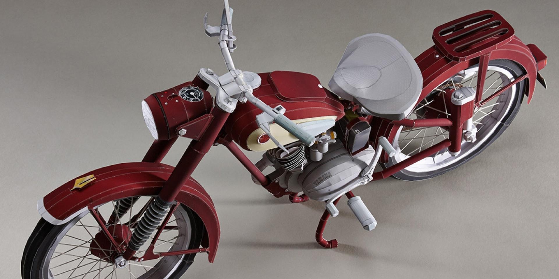 紙模型20週年慶。YAMAHA YA-1 超精細紙模型 | SUPERMOTO8