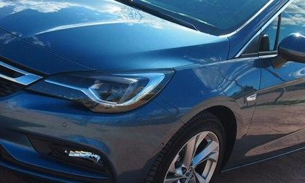 Al Volante del nuevo Opel Astra 2016
