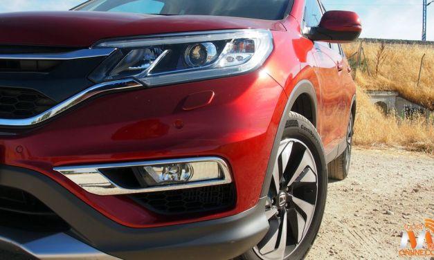 Al volante del Honda CR-V 2016