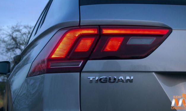 Al volante del Volkswagen Tiguan 2016