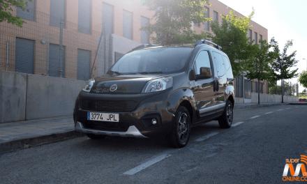 Al volante del Fiat Qubo Trekking 2017