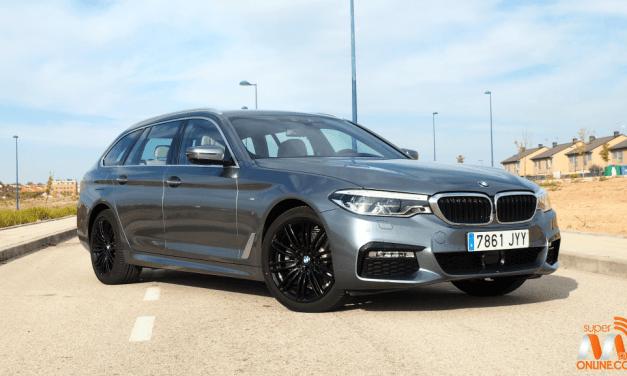 Al volante del BMW Serie 5 Touring 2017