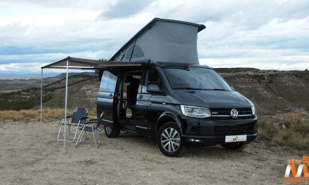 Al volante del Volkswagen California 2017