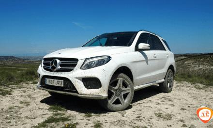 Al volante del Mercedes-Benz GLE 350d 4Matic 2018