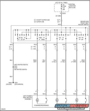 Ford F250 Power Seat Electrical Diagram ~ Wiring Diagram