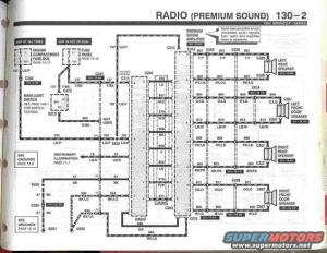94 bronco stereo wiring diagram  Ford Bronco Forum