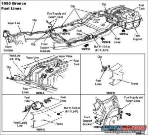 1983 Ford Bronco '9096 Fuel Pump System pictures, videos