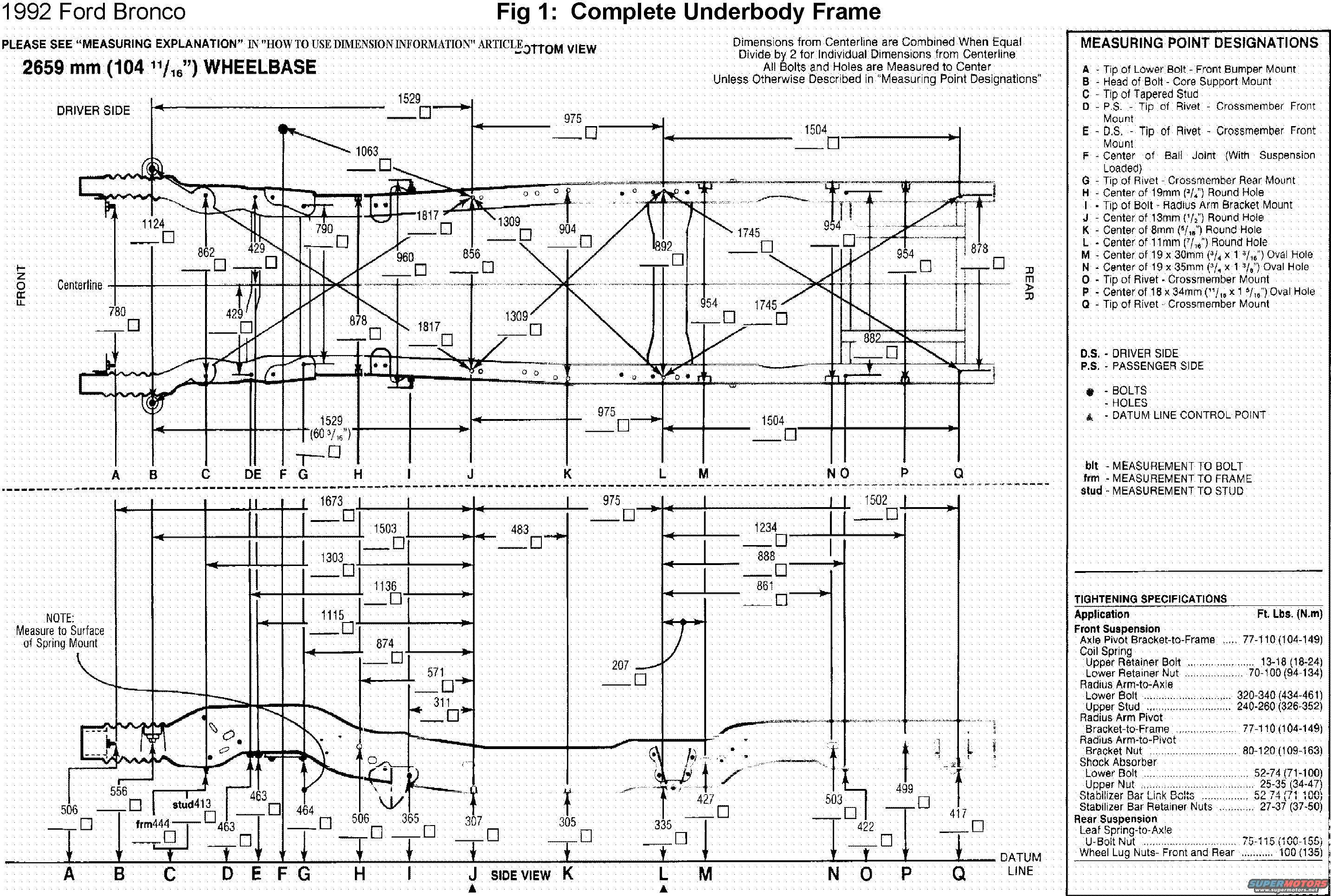 F150 Frame Diagram