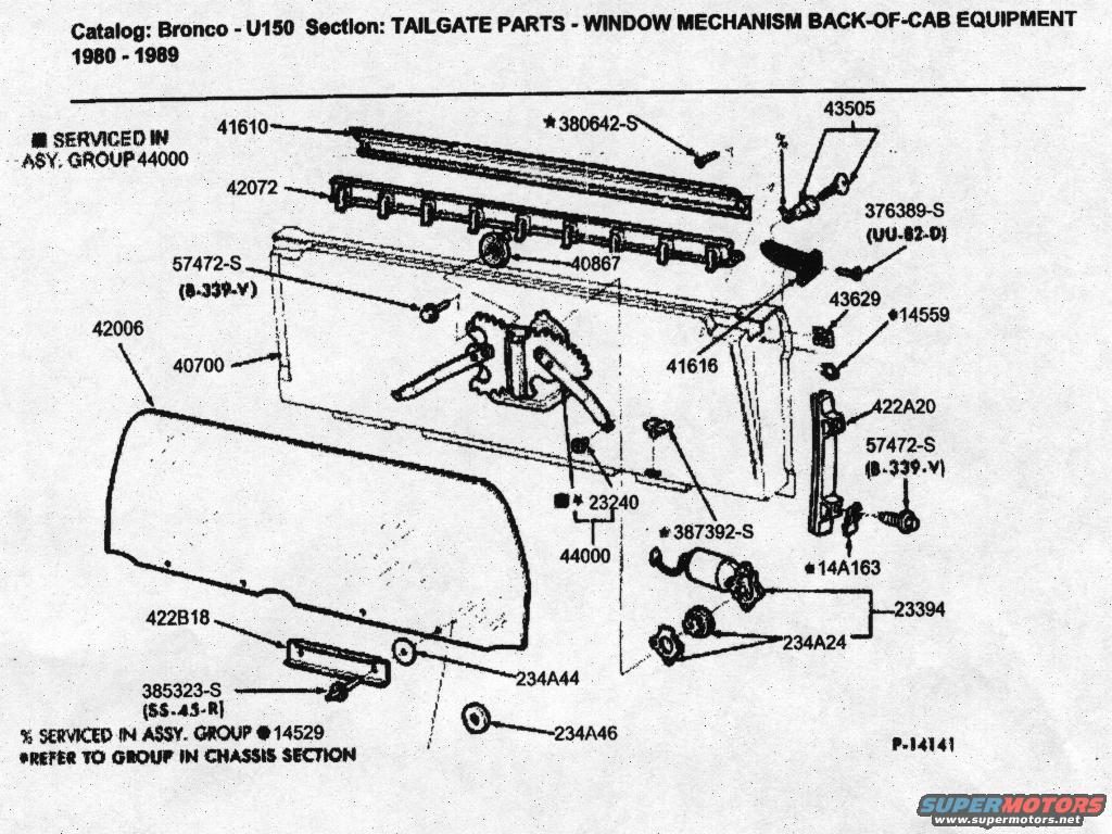 Bronco Wiring Diagram