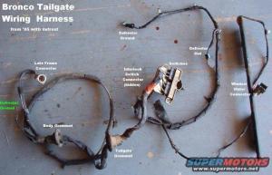 Bronco Tailgate Wiring Diagram  Somurich
