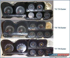 72  79 Gauge Clusters and Wiring | rancherous